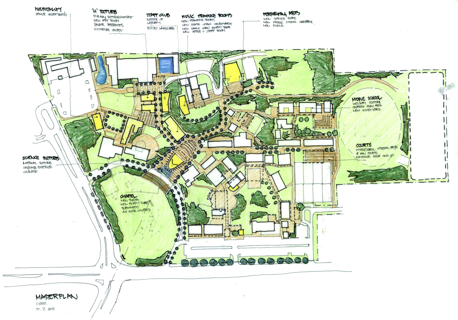 John Paul College Master Plan Revision